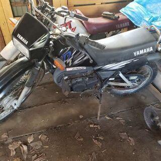 中古バイク ヤマハDT50 2台