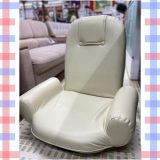 11/15🐔回転式座椅子 1人掛け ベージュ 横約65㎝ …