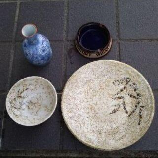 陶器(皿、 御飯茶碗 、徳利 )いかがですか