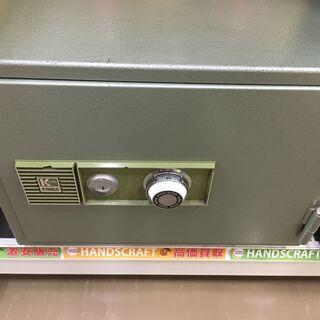 金剛 ダイヤル式金庫 鍵・取扱説明書付属 F-30 中古品