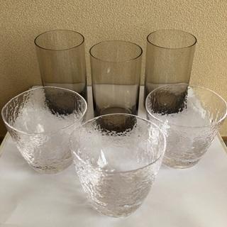小樽ウィスキーグラス3 & グラス3