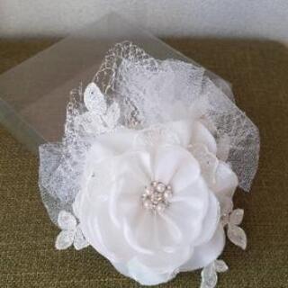 ブライダル ヘッドドレス 結婚式 髪飾り ウエディング