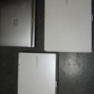 富士通ノートパソコン 3台セット ジャンク品