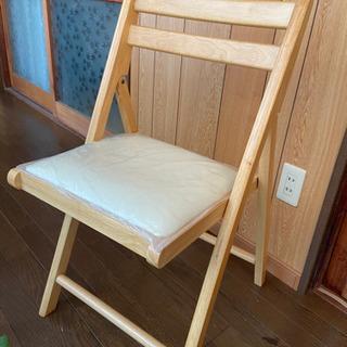 【お譲り先決定致しました】折り畳み椅子