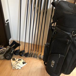 ゴルフクラブバッグ一式、写真すべて譲ります。の画像