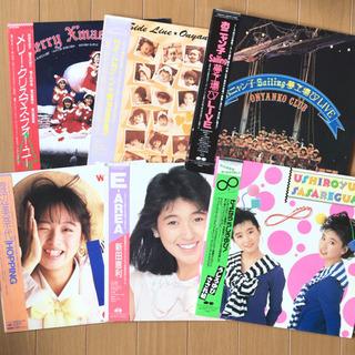おニャン子クラブ関連 LP レコード 6枚セット
