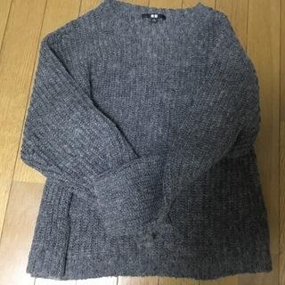 ユニクロ 女性向け Sサイズ 羊毛入りニットセーター