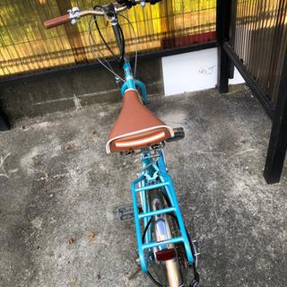 【⠀お話中  】20インチ 折りたたみ自転車