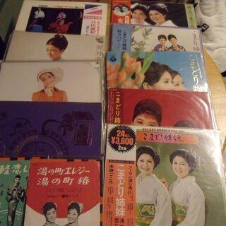 LP レコード 越路吹雪 倍賞千恵子 八代亜紀 こまどり姉妹