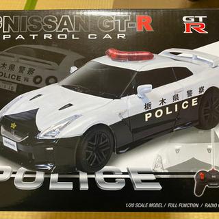 R/C NISSAN GT-R POLICE ラジコン パトカー
