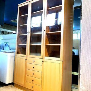 札幌近郊 送料無料 食器棚 オーダーメイド 飾り棚 リビン…