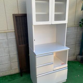 ☆m78 食器棚 キッチン収納 ホワイト