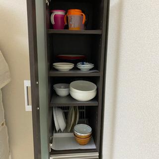 引取者決定✿ニトリ 食器棚 キャビネット − 京都府
