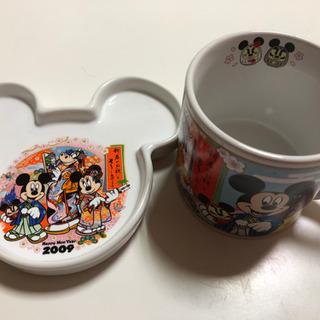 ミッキー&ミニーカップとお皿のセット(値下げ)