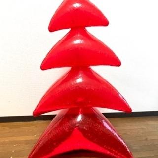 クリスマスツリー 赤