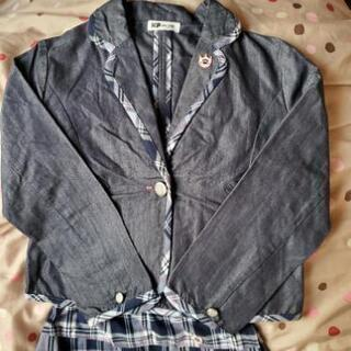 KP スーツ ジャケット スカート セットアップ 140cm