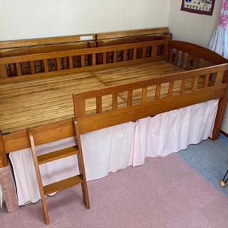 【決まりました】木製二段ベッド