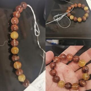 無料で糸が切れたブレスレットやネックレス糸繋ぎします