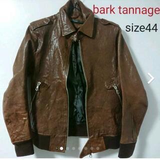 【ネット決済・配送可】bark tannage レザージャケット