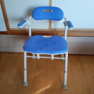 介護用品 安寿 折りたたみ浴用椅子 浴用マット