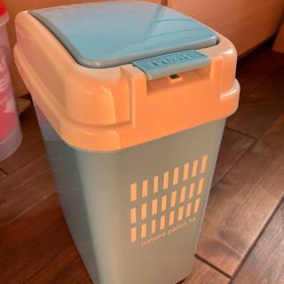 ゴミ箱 12ℓ 水色