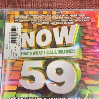 CD 【NOW59】新品未使用