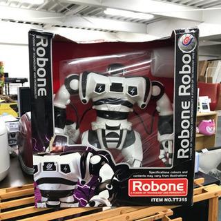 Robon TT315 ロボーン ロボット ラジコン 白 ホワイト 黒 ブラックの画像