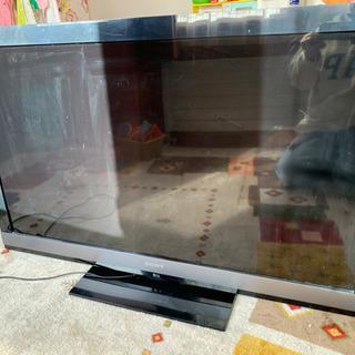 46インチテレビですよ。