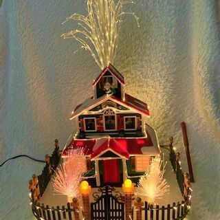 ★USED!!高さ45㎝×横28㎝・クリスマスの室内飾り・電飾オ...