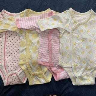 赤ちゃん 冬用肌着 サイズ50〜60