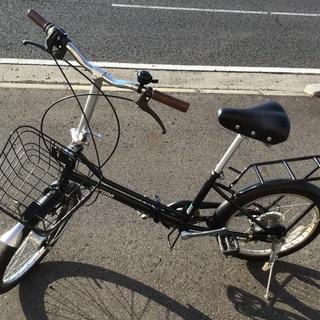 折りたたみ中古自転車整備済み自転車店