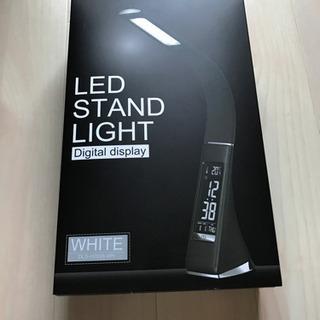 LEDライト デジタルディスプレイ ホワイト