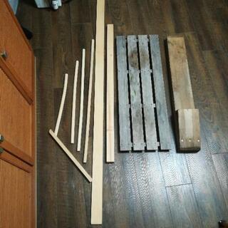 木材 材料 すのこ あげます