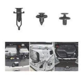 自動車用リベット  3種類 ナイロン ファスナー 泥フラップ バンパー