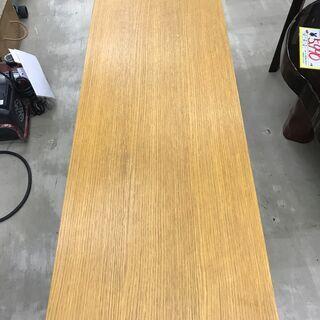 オーク材ラウンジテーブル 無印良品 天然木 120幅 糸島福岡唐津 1117-03 - 家具