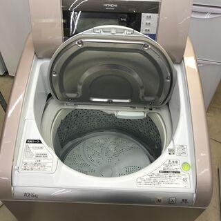 10.0kg/6.0kg乾燥機能付洗濯機 HITACHI 日立 2014年製 BW-D10SV(N) ビートウォッシュ 糸島福岡唐津 1117-07 − 福岡県