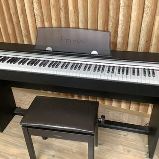 安心の6か月保証付き!!CASIO(カシオ)の電子ピアノ!…