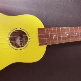 【new!】🌈黄色いウクレレギター🌈[可愛い楽器]【値下】 [🏝...