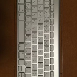 Apple純正 ワイヤレスキーボード A1314の画像