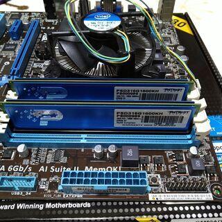 i5-3470 DDR3 2枚 グラボ それぞれ売ります ジャンク扱い
