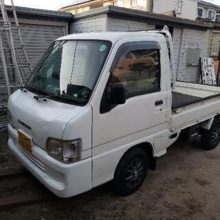 格安軽トラ サンバー 5MT 車検1年8ヶ月付き!