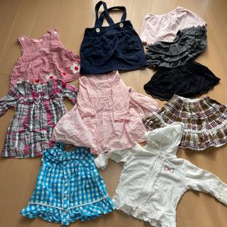 女の子 80サイズ まとめ売り 65枚 − 京都府