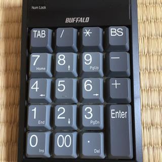 【ネット決済・配送可】USB対応テンキーボード