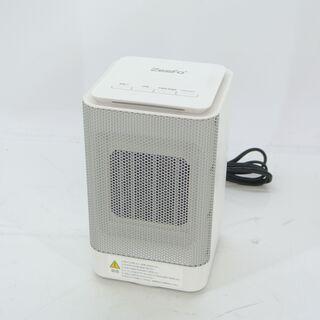 ZEEFO 電気セラミックファンヒーター 首振り60度 足元ヒー...