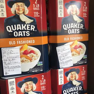 コストコ Quaker オートミール 6個