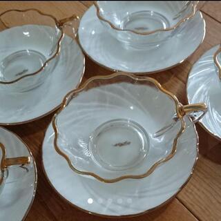 クリヤマ スープ皿 ティーカップ 5こセット