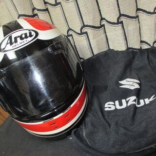 バイク用ARAIヘルメット/若いころに使っていたARAIのヘルメ...