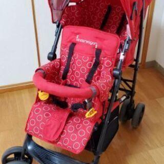 日本育児 2人乗りベビーカー kinder wagon