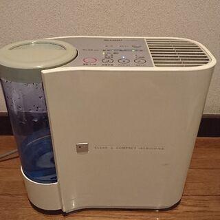SHARP気化式加湿器プラズマクラスター内蔵型の画像