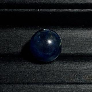 ブルーアパタイトキャッツアイ(12mm)1点物 粒売り